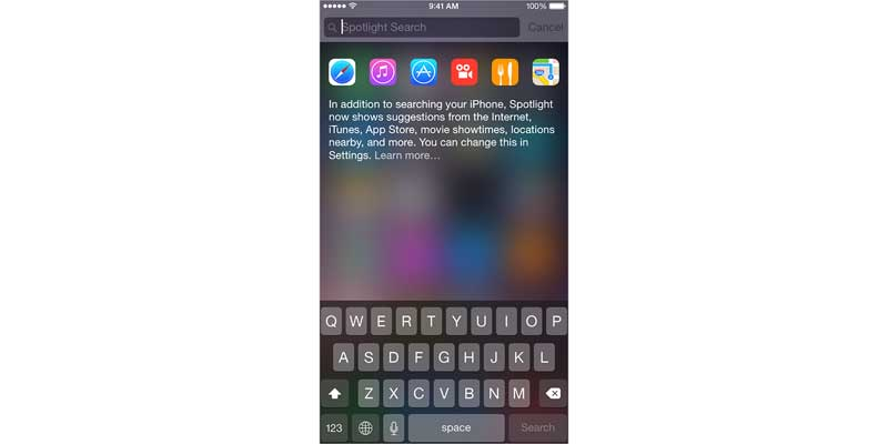 Spotlight Search - Top 10 Features That We Want in iOS 9