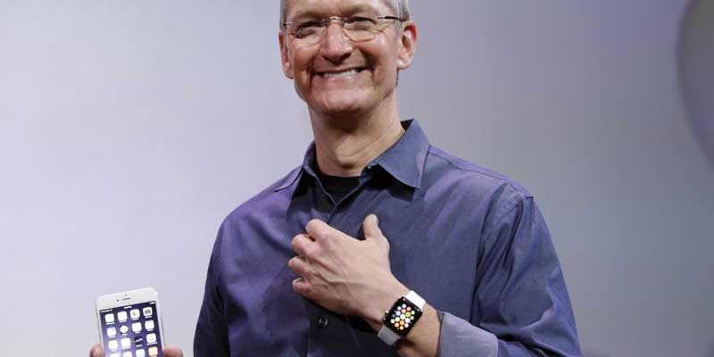 Tim Cook Apple Watch iPhone 6